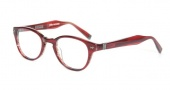 John Varvatos V342 Eyeglasses Eyeglasses - Chianti Red