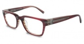John Varvatos V350 Eyeglasses Eyeglasses - Chianti Red