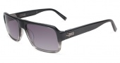 John Varvatos V785 UF Sunglasses Sunglasses - Black Gradient