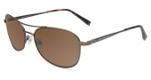John Varvatos V786 Sunglasses Sunglasses - Gold
