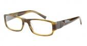 John Varvatos V341 AF Eyeglasses Eyeglasses - Olive Horn