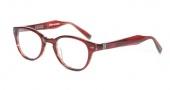 John Varvatos V342 AF Eyeglasses Eyeglasses - Chianti Red