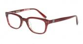 John Varvatos V343 AF Eyeglasses Eyeglasses - Chianti Red