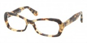 Miu Miu MU 01IV Eyeglasses Eyeglasses - 7S01O1 Medium Havana / Demo Lens