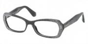 Miu Miu MU 01IV Eyeglasses Eyeglasses - HAC1O1 Black Glitter Gradient / Demo Lens