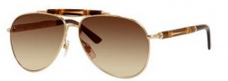 Gucci 4240/S Sunglasses Sunglasses - 0CSX Gold (OH Brown Gradient Lens)