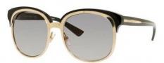 Gucci 4241/S Sunglasses Sunglasses - 0EZK Gold / Dark Gray (EU Gray Gradient Lens)