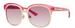 Gucci 4241/S Sunglasses Sunglasses - 0EYR Gold / Pink (9R Pink Gradient Lens)