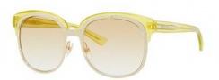 Gucci 4241/S Sunglasses Sunglasses - 0EZF Gold / Yellow (SV Yellow Gradient Lens)