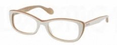 Miu Miu MU 01LV Eyeglasses Eyeglasses - KAT1O1 Ivory / Opal