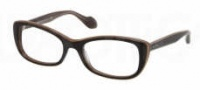 Miu Miu MU 01LV Eyeglasses Eyeglasses - KAY1O1 Black / Transparent