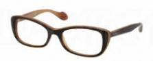 Miu Miu MU 01LV Eyeglasses Eyeglasses - KAZ1O1 Havana / Honey