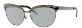 Gucci 4249/S Sunglasses Sunglasses - 0KJ1 Dark Ruthenium (T4 Black Mirror Lens)