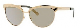 Gucci 4249/S Sunglasses Sunglasses - 0J5G Gold (UE Gray Ivory Mirror Lens)
