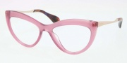 Miu Miu MU 01MV Eyeglasses Eyeglasses - PC91O1 Violet