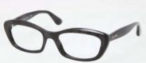 Miu Miu MU 02MV Eyeglasses Eyeglasses - 1AB1O1 Black