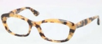 Miu Miu MU 02MV Eyeglasses Eyeglasses - PC81O1 Golden Light Havana