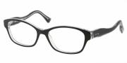 Miu Miu MU 03IV Eyeglasses Eyeglasses - 2AF1O1 Black / Crystal
