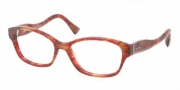 Miu Miu MU 03IV Eyeglasses Eyeglasses - GAT1O1 Red Havana