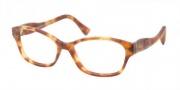 Miu Miu MU 03IV Eyeglasses Eyeglasses - HAJ1O1 Matte Light Havana