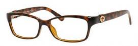 Gucci GG 3647 Eyeglasses Eyeglasses - 0DWJ Havana