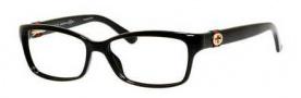 Gucci GG 3647 Eyeglasses Eyeglasses - 0D28 Shiny Black