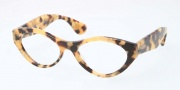 Miu Miu MU 03MV Eyeglasses Eyeglasses - PC81O1 Light Tortoise