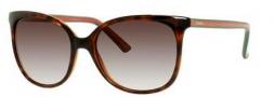 Gucci 3649/S Sunglasses Sunglasses - 017L Havana (JS Gray Gradient Lens)