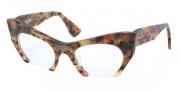 Miu Miu MU 04MV Eyeglasses Eyeglasses - MAN1O1 Yellow Marble Havana