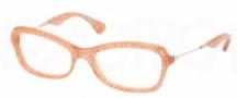 Miu Miu MU 06LV Eyeglasses Eyeglasses - KA41O1 Pink Glitter