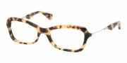 Miu Miu MU 06LV Eyeglasses Eyeglasses - 7S01O1 Yellow Havana