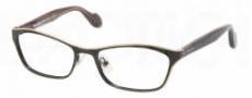 Miu Miu MU 55LV Eyeglasses Eyeglasses - LAZ1O1 Gold / Black