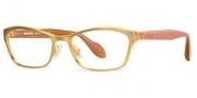 Miu Miu MU 55LV Eyeglasses Eyeglasses - LAE1O1 Brushed Golden Bronze