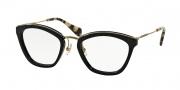 Miu Miu MU 55MV Eyeglasses Eyeglasses - 1AB1O1 Black