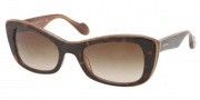 Miu Miu MU 01OS Sunglasses Sunglasses - KAZ6S1 Top Havana / Brown Gradient Lens