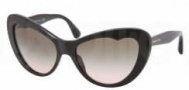 Miu Miu MU 04OS Sunglasses Sunglasses - 1AB1E2 Black / Gray Gradient Lens