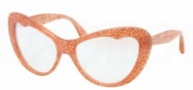 Miu Miu MU 04OS Sunglasses Sunglasses - KA41B2 Rose Glitter / Nacre Lens