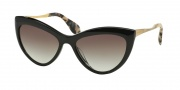 Miu Miu MU 08OS Sunglasses Sunglasses - 1AB0A7 Black / Gray Gradient Lens