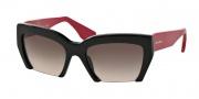 Miu Miu MU 11OS Sunglasses Sunglasses - 1AB1E2 Black / Grey Gradient