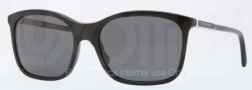 Burberry BE4147 Sunglasses Sunglasses - 300187 Black / Gray
