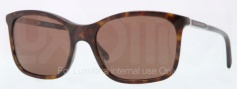 Burberry BE4147 Sunglasses Sunglasses - 300273 Dark Havana / Brown