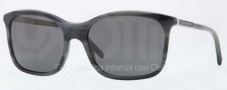 Burberry BE4147 Sunglasses Sunglasses - 340187 Grey Horn / Gray