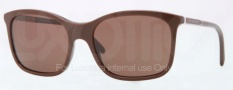 Burberry BE4147 Sunglasses Sunglasses - 340473 Brown / Brown