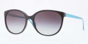 Burberry BE4146 Sunglasses Sunglasses - 30018G Black / Gray Gradient
