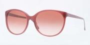 Burberry BE4146 Sunglasses Sunglasses - 340213 Bordeaux / Brown Gradient