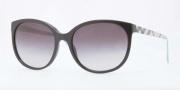 Burberry BE4146 Sunglasses Sunglasses - 34058G Black / Gray Gradient
