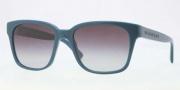 Burberry BE4140 Sunglasses Sunglasses - 31418G Turquoise / Gray Gradient