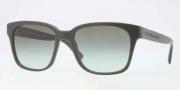 Burberry BE4140 Sunglasses Sunglasses - 33738E Green / Green Gradient