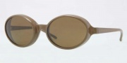 Burberry BE4141 Sunglasses Sunglasses - 337973 Olive Green / Brown