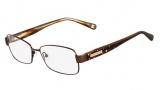 Nine West NW1021 Eyeglasses Eyeglasses - 200 Dark Brown